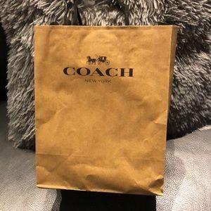 Coach Bags - Brand new glitter coach wristlet